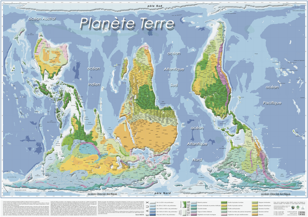 Planisphère renversante - 1024*720
