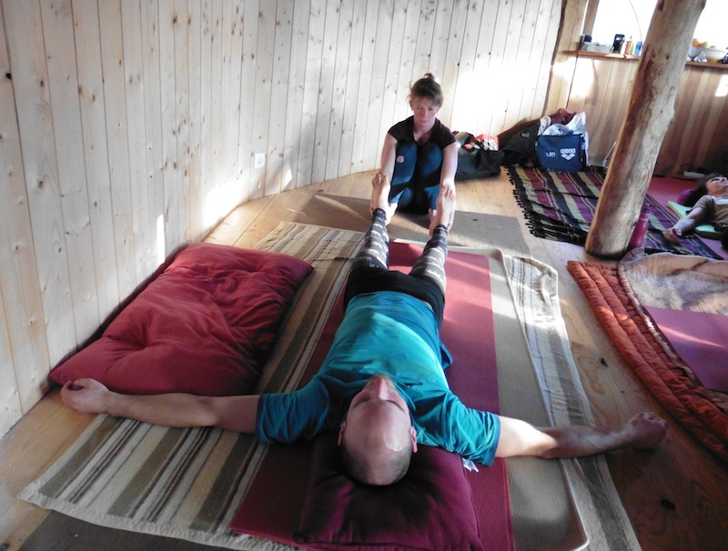 12- Des massages après l'acro