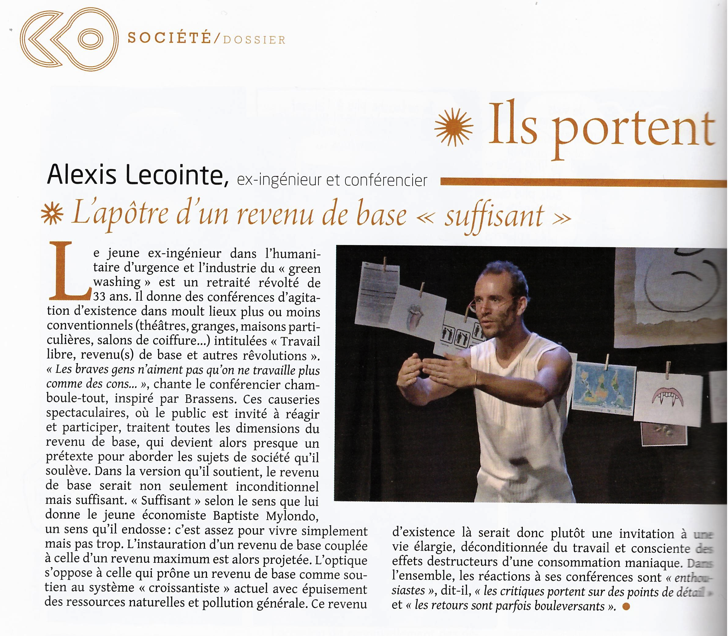 Article Alexis Nexus