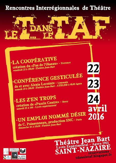 Conf gesticulée - Saint-Nazaire @ Théâtre Jean Bart | Saint-Nazaire | Pays de la Loire | France