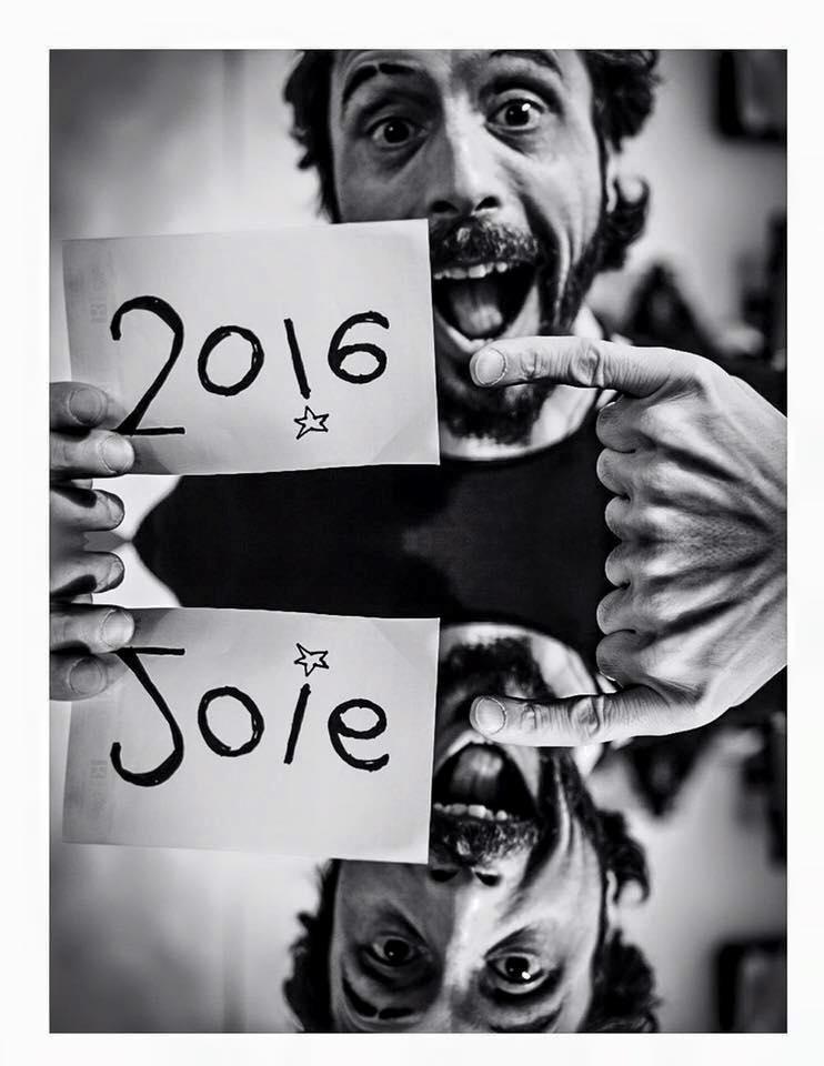 2016= joie !