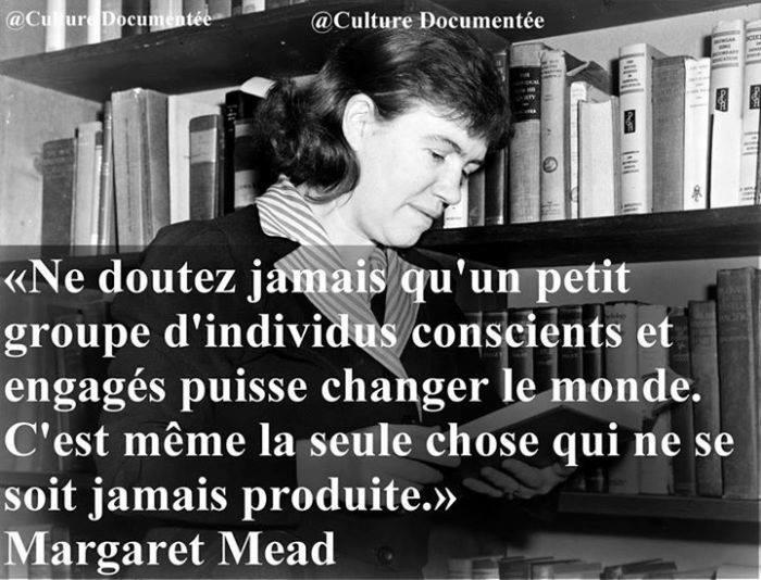 *( Changement (Margaret Mead)