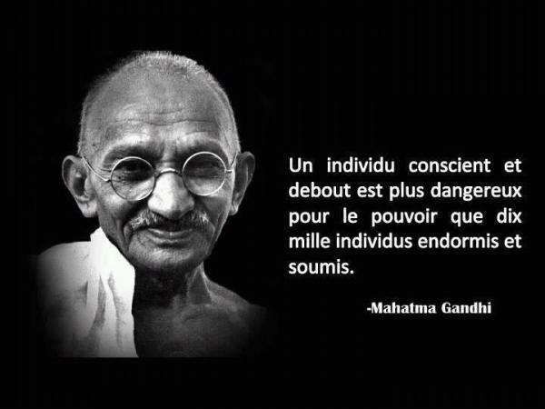 *( Conscient (Gandhi)