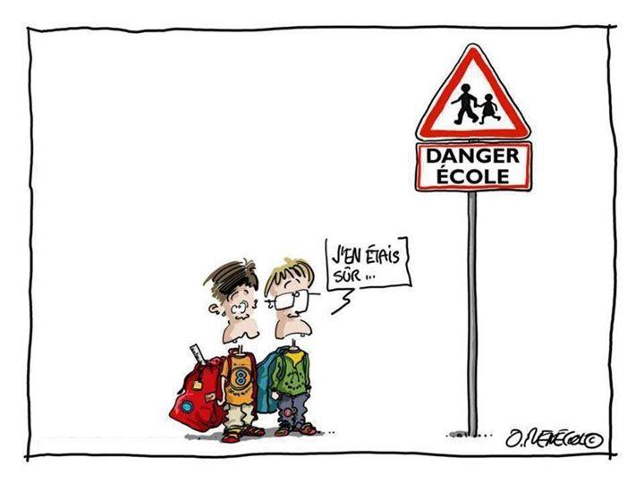*( Danger école