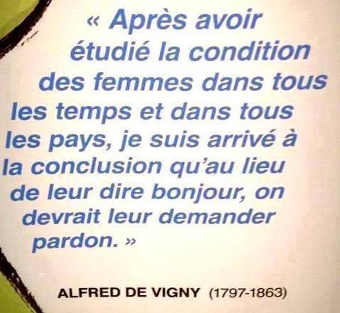*( Féminisme (Alfred de Vigny)