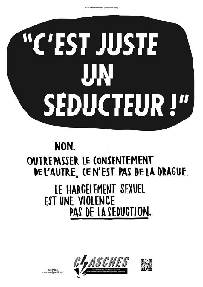 """*( Féminisme (""""c'est juste un séducteur!"""")"""