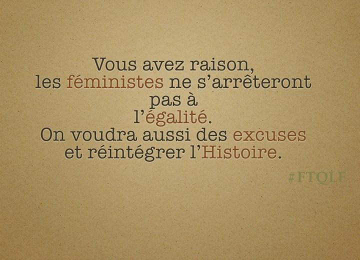 *( Féminisme