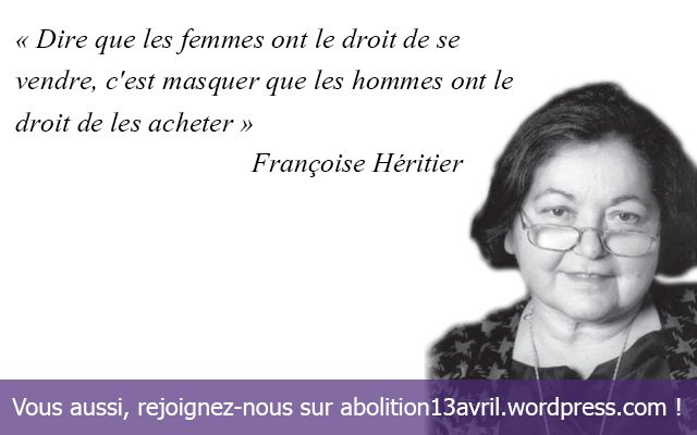 **( Prostitution (Françoise Héritier)