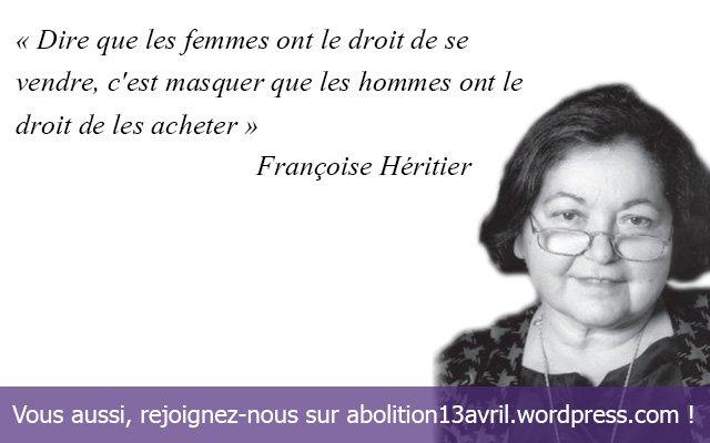 *( Prostitution (Françoise Héritier)