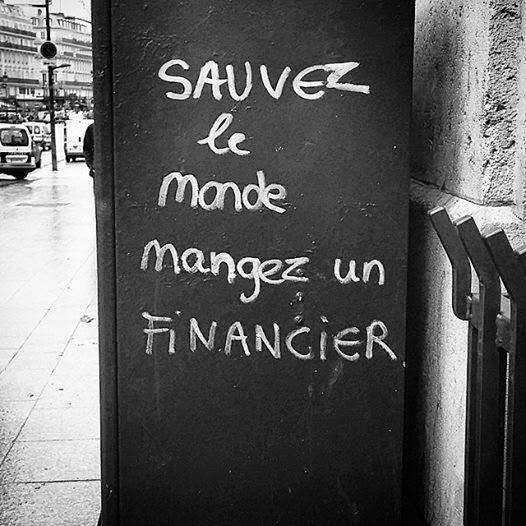Sauvez le monde mangez un FINANCIER