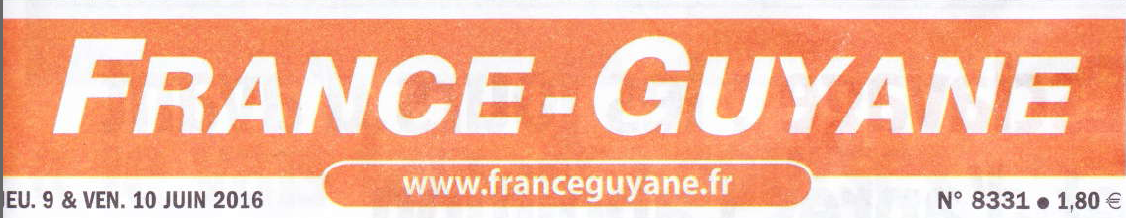 2016.06.09 - Page garde - France Guyane