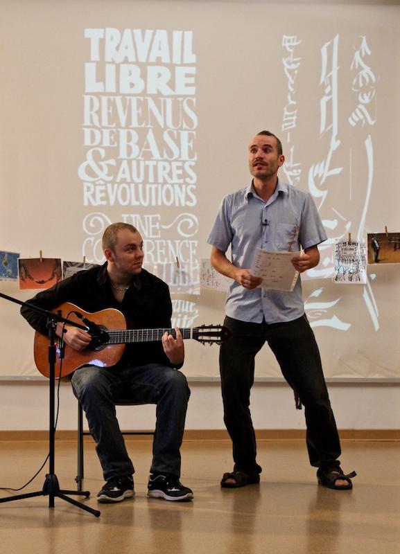 (web) Conf Alexis chanson Montpellier (2015) - Crédit photo Nicolas Sené, Pas de roses sans épines!